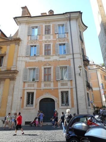 Fake windows at S. Ignazio