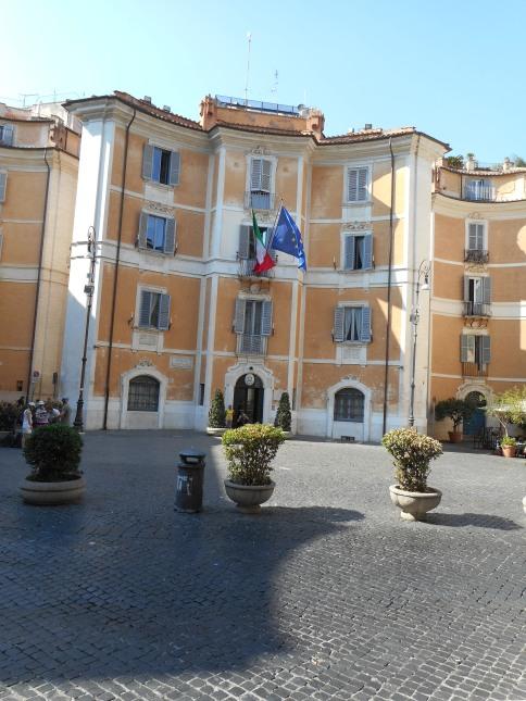 Outside S. Ignazio