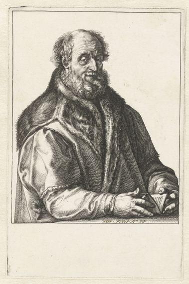 H. Goltzius (1558-1617) Portrait of Jan van Suren (1517-1591) - Amsterdam, Rijksmuseum RP-P-1898-A-20591