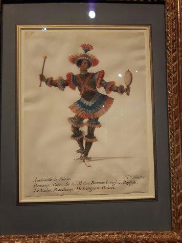 Monsieur Sainctot, academiste de Chiron in the costume of a native American