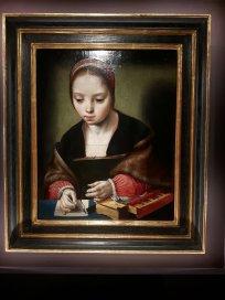 St Cecilia composing