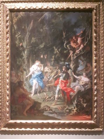 The meeting of Dido and Aeneas in the Underworld, oil on canvas