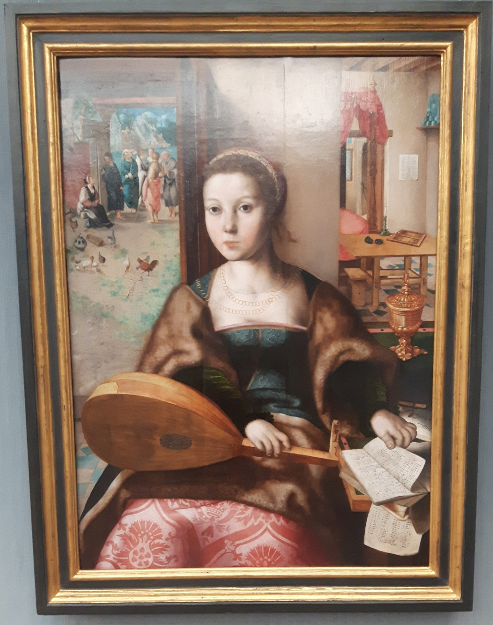 Mary Magdalene with Lute