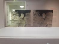 Glass negative - portrait of a man