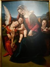 Pero di Cosimo (1461-1522), Madonna and Child with music making angels, Venice, Galleria Cini
