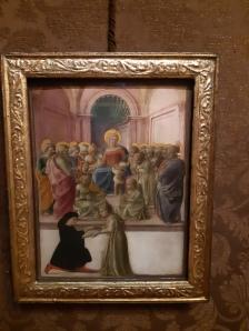 Filippo Lippi (ca. 1406-1469), Enthroned Madonna and Child among Saints, Venice, Galleria Cini