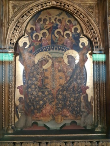 Paolo Veneziano (fl. 1333-1362), Polyptych of the Incoronation of the Virgin (central panel), Venice, Gallerie dell'Accademia