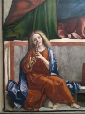 Vittore Carpaccio (ca. 1460-1526), Presentation of Christ at the Temple (detail) Venice, Gallerie dell'Accademia