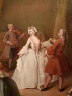 Pietro Longhi (1701-1785), the ball lesson; Venice, Gallerie dell'Accademia