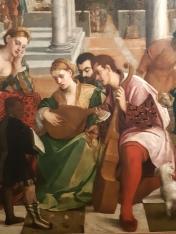 Bonifazio de' Pitati (1487-1553), Dinner at the rich Epulone's house (detail); Venice, Gallerie dell'Accademia