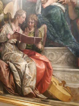 Paolo Veronese (1528-1588), the Mystic marriage of St. Catherine; Venice, Gallerie dell'Accademia