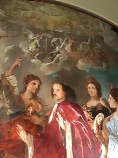 Francesco Maffei (1605?-1660), Glorification of Podestà Pisani, Vicenza, Palazzo Chiericati