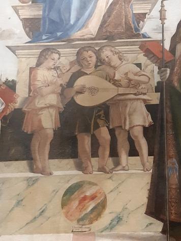 Bartolomeo Montagna (ca. 1449-1523), Enthroned Virgin and Saints, Vicenza, Palazzo Chiericati