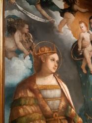 Girolamo dal Toso (fl. 1500-1551), Madonna & Child with St. Catherine and Apollonia, Vicenza, Palazzo Chiericati