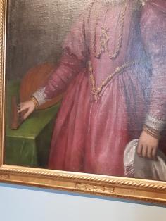 Girolamo Forni (fl. 1558-1610), Portrait of Isabella Thiene Valmarana, Vicenza, Palazzo Chiericati