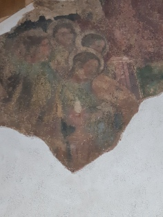 Workshop of Altichiero (second half XIV cent.) Coronation of the Virgin, fresco, Verona, Museo di Castelvecchio