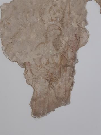 Workshop of Altichiero (second half XIV cent.) Coronation of the Virgin, sinopia, Verona, Museo di Castelvecchio