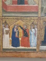 Turone di Maxio (second half XIV cent.) Polyptych of the Holy Trinity (1360), Verona, Museo di Castelvecchio