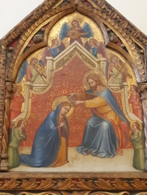 Turone di Maxio (second half XIV cent.) Polyptych of the Holy Trinity (1360), Verona, Museo di Castelvecchio