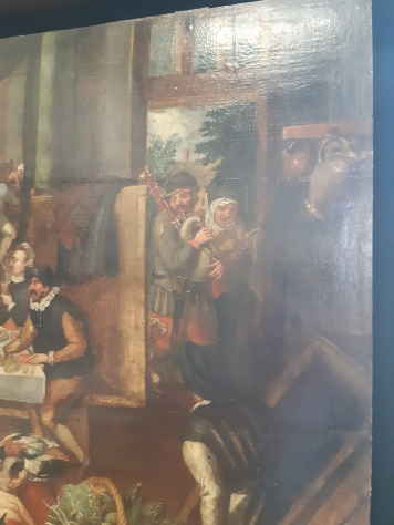 Marten van Cleef (1527-c.1581), Interior with kitchen, Verona, Museo di Castelvecchio