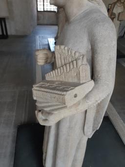 Master of S. Anastasia (First half XIV sec), St. Cecilia, Verona, Museo di Castelvecchio