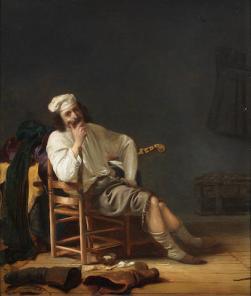A Musician Resting; Bonhams, 9.7.2014, lot 91