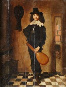 A lute player; Bonhams, 9.7.2014, lot 92; 29.04.2015, lot 70