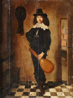 A lute player; Bonhams, 9.7.2014, lot 92; 29.04.2015, lot 70