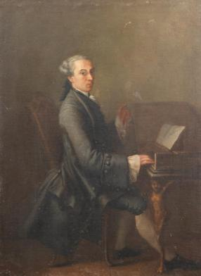 The Harpsichordist; 03.12.2014, lot 78/2
