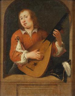 The Lute player; Bonhams 05.12.2012, lot 48